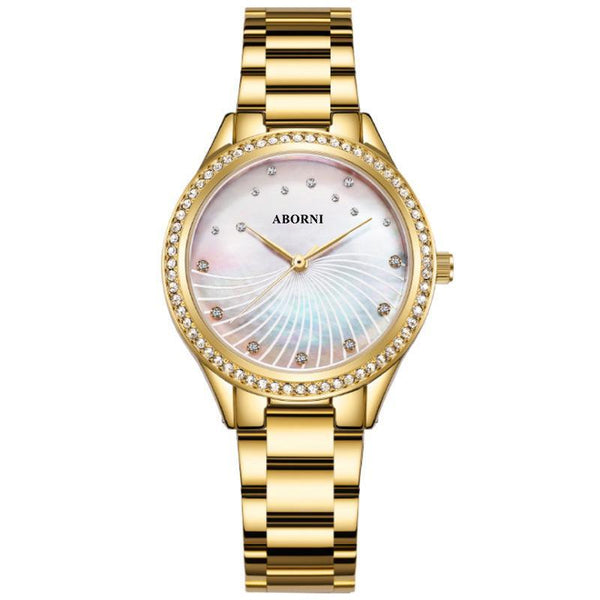 Trendinggate.com Golden 2019New French Minority Watch Female Student Simple Temperament Fashion Waterproof Quartz Watchnet Red Watch