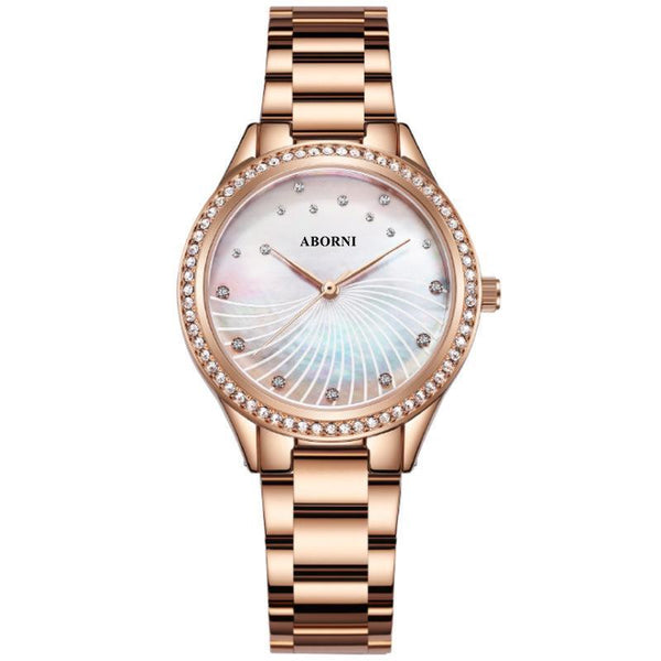 Trendinggate.com Rose Gold 2019New French Minority Watch Female Student Simple Temperament Fashion Waterproof Quartz Watchnet Red Watch