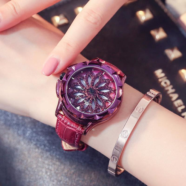 Trendinggate.com 2019New Martha's time to run the watch female YJ Six fashion trend waterproof student atmospheric minimalist female
