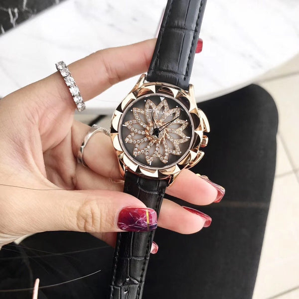 Trendinggate.com Black 2019New Martha's time to run the watch female YJ Six fashion trend waterproof student atmospheric minimalist female
