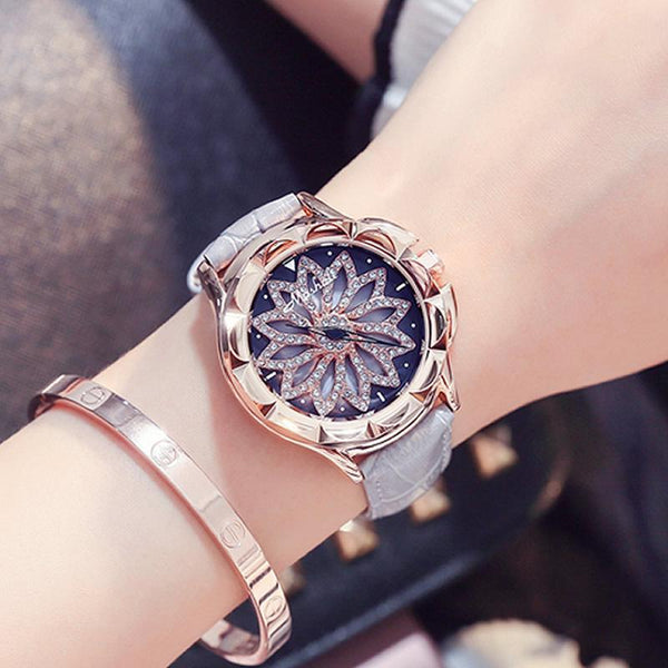 Trendinggate.com gray 2019New Martha's time to run the watch female YJ Six fashion trend waterproof student atmospheric minimalist female