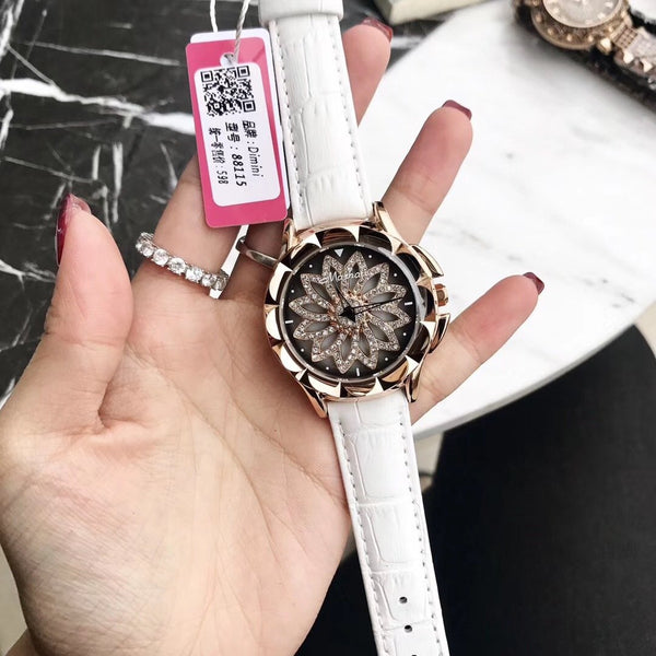 Trendinggate.com white 2019New Martha's time to run the watch female YJ Six fashion trend waterproof student atmospheric minimalist female