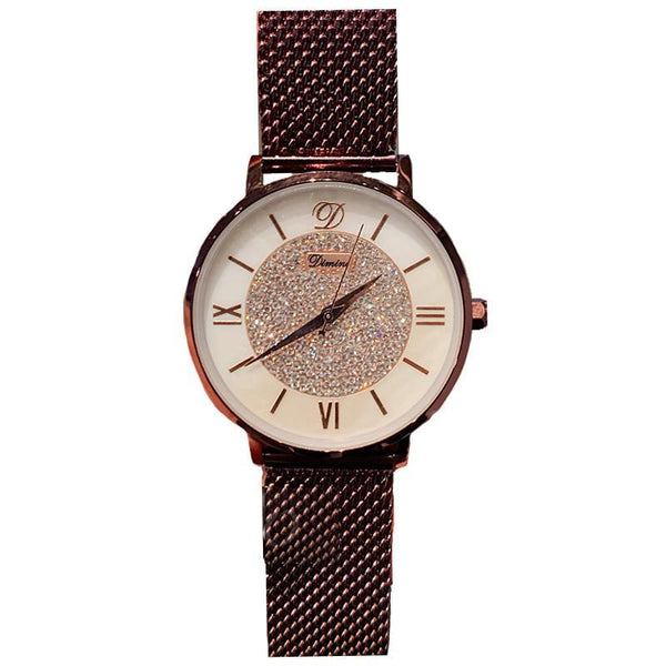 Trendinggate.com 2019New Timini DIMINI baby's breath ladies watch fashion student waterproof ultra-thin mesh belt wrist watch ladies