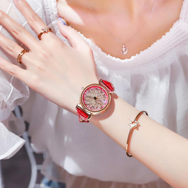 Trendinggate.com 2019New YJ No. 6 Time Running Watch Women Watch Student Fashion Network
