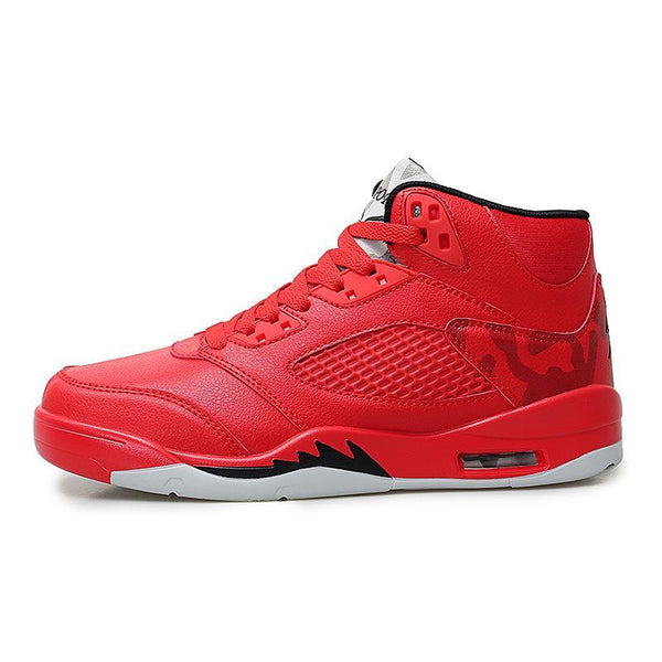 Trendinggate.com Red / 39 2019Spring and autumn new aj1 basketball shoes set casual sports shoes men's high help wear-resistant Yantian running men's shoes