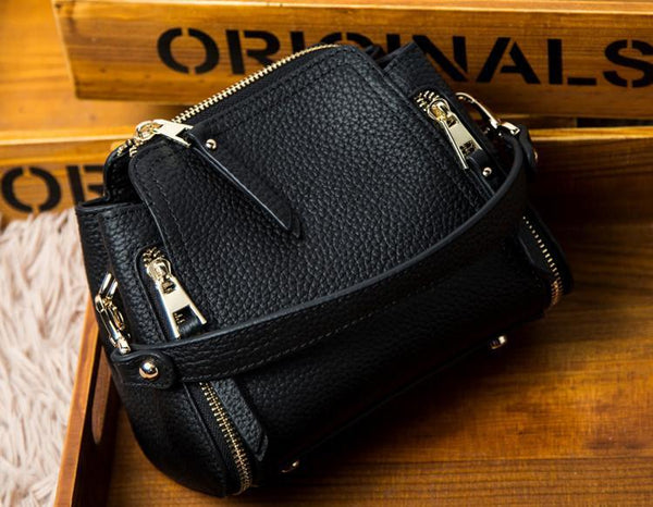 Trendinggate.com 2019Spring women's bag, Korean version of real leather bag, women's hand-held new oblique Chao brand single shoulder bag, a surrogate, one piece, one shoulder bag, one shoulder bag.