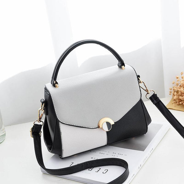 Trendinggate.com Black 2019The new women's bag Korean version of the simple fashion one-shoulder hand-held women's bag manufacturers directly sell a bag bags