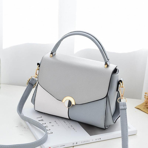 Trendinggate.com gray 2019The new women's bag Korean version of the simple fashion one-shoulder hand-held women's bag manufacturers directly sell a bag bags