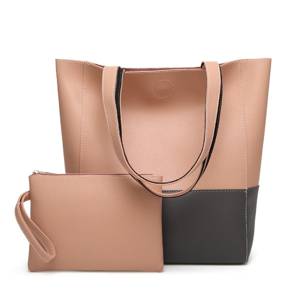 Large-Capacity Classy Leather Handbag