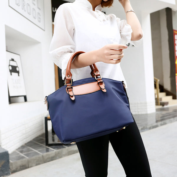Factory direct sales women's bag 2019 new Korean version of the fashion women's mother bag cross-border wholesale hand-held slanted shoulder big bag