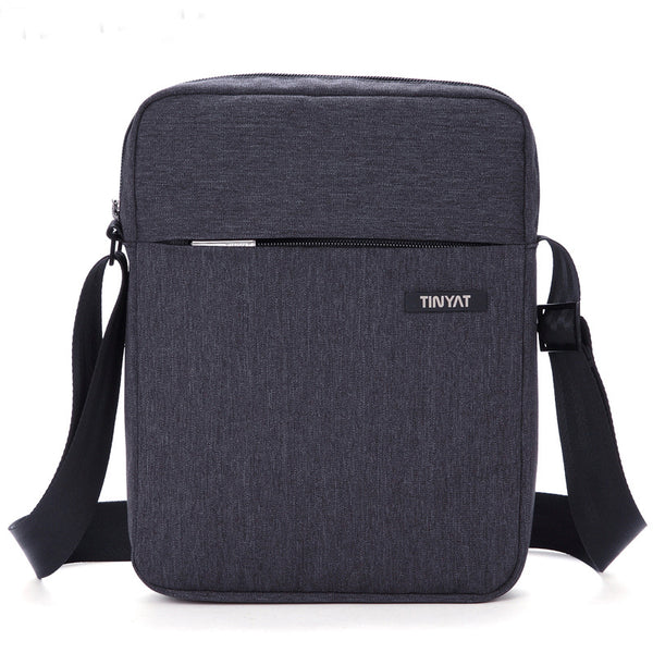 tinyat Tin Yat men bag Korean version of casual men's messenger bag waterproof outdoor multifunction shoulder bag messenger bag