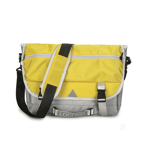 Casual Hip 2 Color Messenger Bag