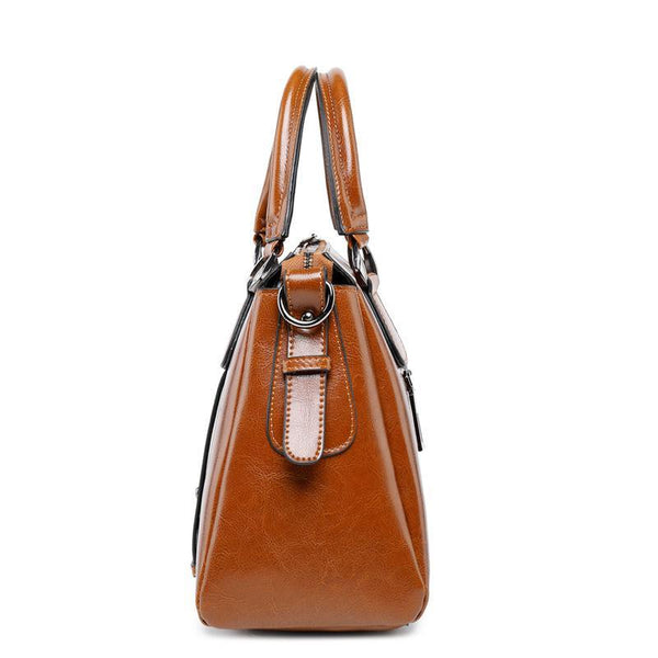 Trendinggate.com Actually sold out women's bag 2019 new fashion leather women's bag cow leather women's one shoulder bag