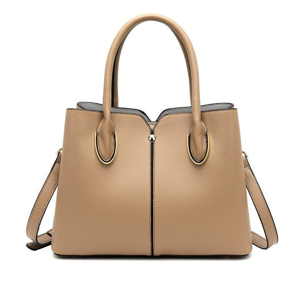 Trendinggate.com Bag girl 2019 new leather women's bag European and American style fashion women's hand-held stiletto bag leather shoulder bag