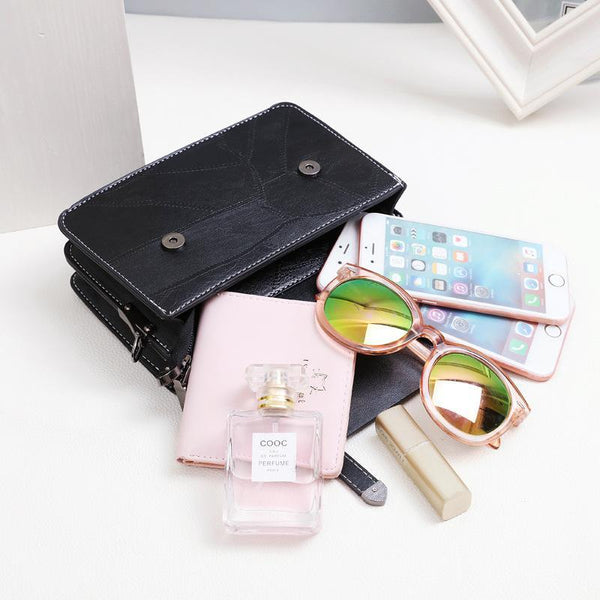 Trendinggate.com Bag girl 2019 summer new bevel bag Hong Kong wind chain postman package Korean version of the stylish mobile phone small square bag