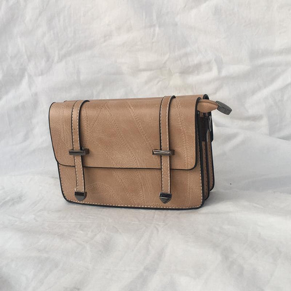 Trendinggate.com Khaki Bag girl 2019 summer new bevel bag Hong Kong wind chain postman package Korean version of the stylish mobile phone small square bag