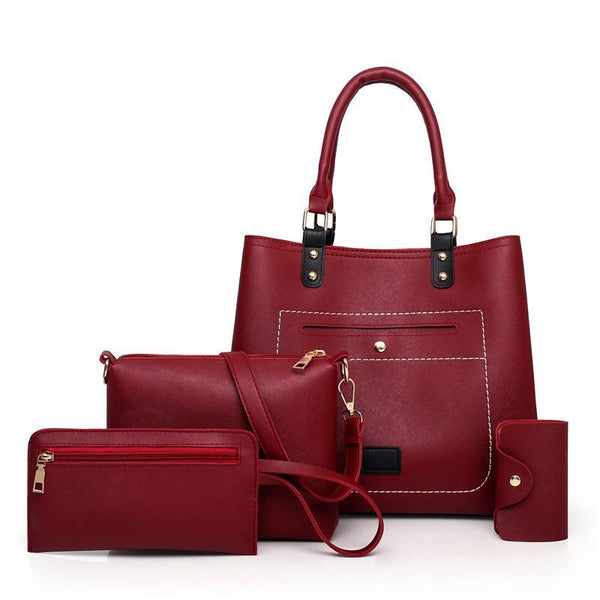 Trendinggate.com Claret Bag woman 2019 New fashion handbags women pu woman handbag slanted