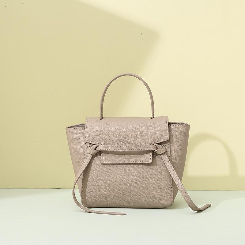 Trendinggate.com [medicine]khaki Bag woman 2019 new fashion leather catfish bag Yao Chen the same handbag with one shoulder slant bag issued by the factory