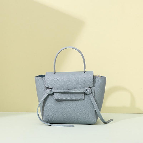 Trendinggate.com Wathet Bag woman 2019 new fashion leather catfish bag Yao Chen the same handbag with one shoulder slant bag issued by the factory