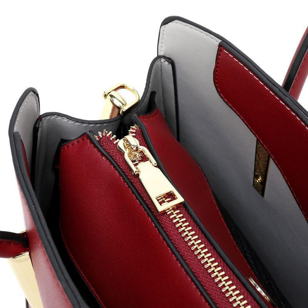 Trendinggate.com Bag women 2019 new European and American Style Leather Shoulder Bag Fashion Napa pattern hand-held messenger bag cowhide bag