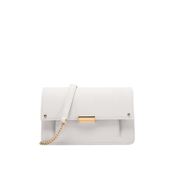 Trendinggate.com Bags women 2019 new summer white bag foreskin shoulder chain shoulder Messenger bag leather small square bag