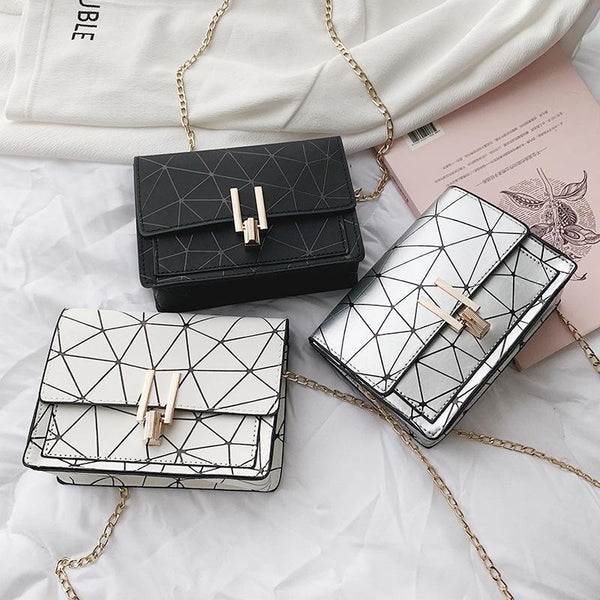 Trendinggate.com bagsBag woman 2019 summer new fashion small square bag Korean version 100 lap chain bag single shoulder bag oblique satchel bag