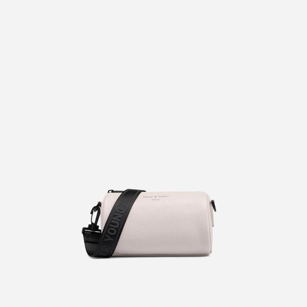 Trendinggate.com White Brand genuine leather bag, women's 2019 new style, all-in-one bag, wide shoulder strap, summer mini-bag generation