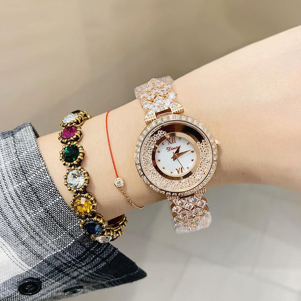 Trendinggate.com Brand luxury fashion waterproof watch dimini women watches