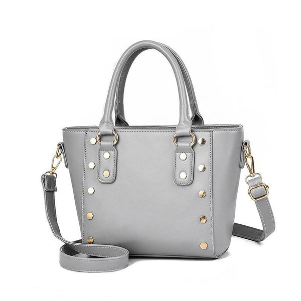 Trendinggate.com Cross-border supply of new shoulder bag women's handbags European and American style rivets PU leather wing bag ladies handbag messenger bag