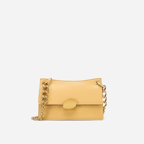Trendinggate.com Large Goose Yellow Crowd design chain bag 2019 new one-shoulder bag summer hundred-pack small bag fashion slash bag leather women's bag