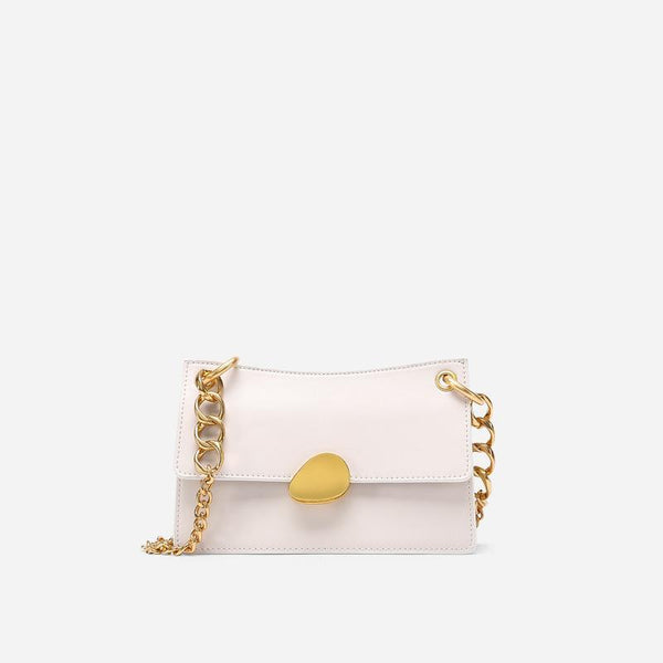 Trendinggate.com Large version of rice white Crowd design chain bag 2019 new one-shoulder bag summer hundred-pack small bag fashion slash bag leather women's bag