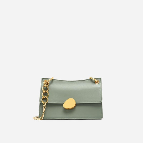 Trendinggate.com Mint Green Crowd design chain bag 2019 new one-shoulder bag summer hundred-pack small bag fashion slash bag leather women's bag