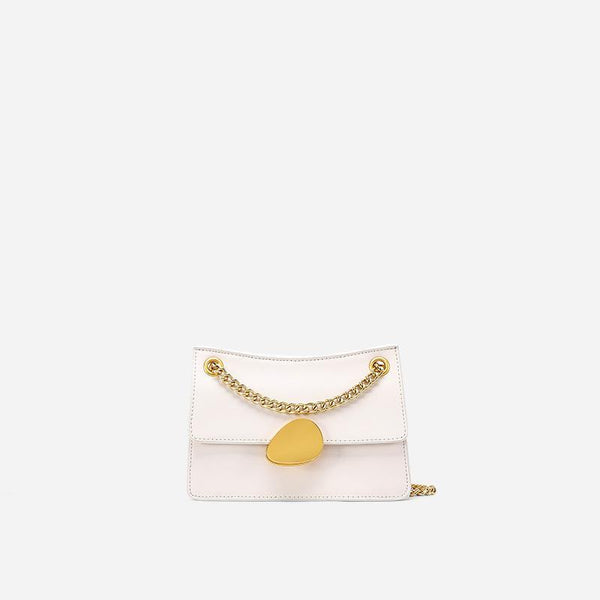 Trendinggate.com Small Beige Crowd design chain bag 2019 new one-shoulder bag summer hundred-pack small bag fashion slash bag leather women's bag