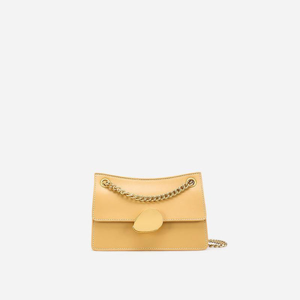 Trendinggate.com Small goose yellow Crowd design chain bag 2019 new one-shoulder bag summer hundred-pack small bag fashion slash bag leather women's bag