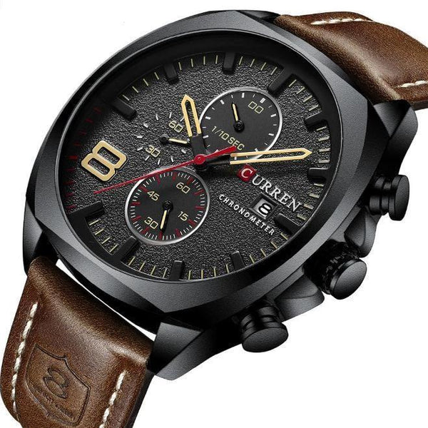 Trendinggate.com Men's Watches CURREN watch Elegant crafted versatile design goes from casual to formal easily