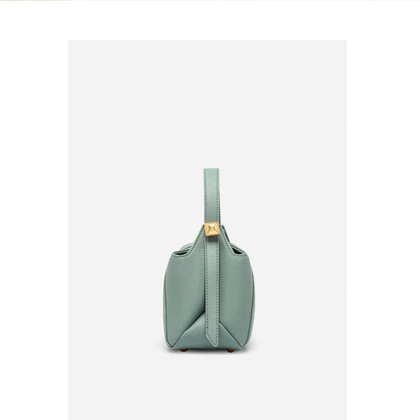 Trendinggate.com Customization of Boston Bag Leather Single Shoulder Slant Bag in Summer