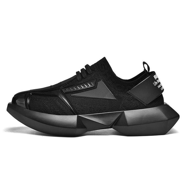 Trendinggate.com -black / 39 Dad men's shoes sports leisure fashion shoes King Kong upgraded version of men's thick-soled INS wild animal type men's shoes