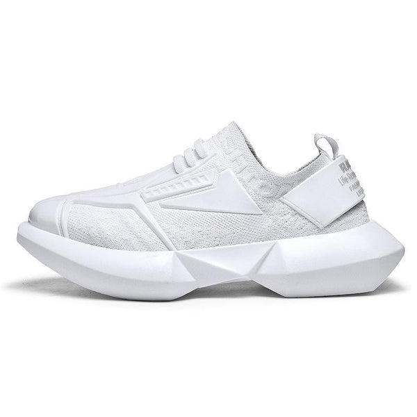 Trendinggate.com -white / 39 Dad men's shoes sports leisure fashion shoes King Kong upgraded version of men's thick-soled INS wild animal type men's shoes
