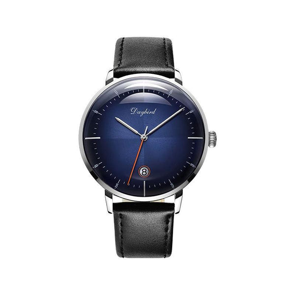 Trendinggate.com Men's Watches 3A118Steel shell blue face black belt DAYBIRD casual watch that takes you to the next level