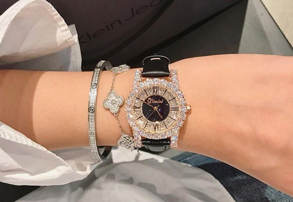 Trendinggate.com Dimini Timi full diamond net red watch Vibrating sound burst fashion waterproof women's watch women watches