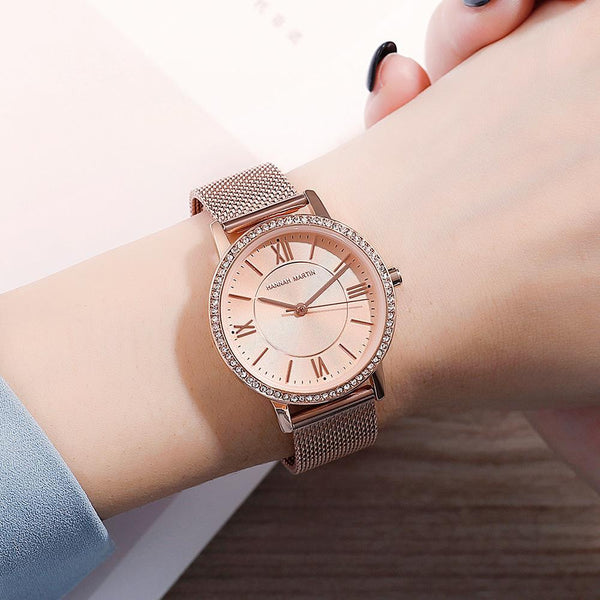 Trendinggate.com European Union Environmental-friendly Amazon explosive European station 2019 new model of private model women's watch, Japanese core, light-weight quartz watch