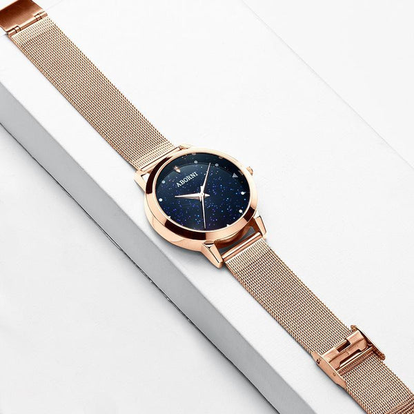 Trendinggate.com Factory source college popular style women's watch starry women's watch students Korean version of simple foreign trade wholesale