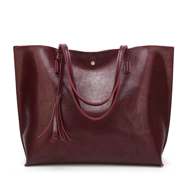 Trendinggate.com Deep red Factory wholesale bag cross-border women's bag 2019 autumn and winter new Korean version of the fashion tote bag large-capacity shoulder bag