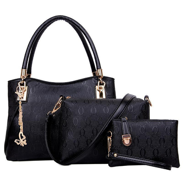 Trendinggate.com Midnight Black Fashion foreign trade in Europe and the United States O-line fast-selling hot-selling explosive manufacturers direct sales of three sets of Golden Fox