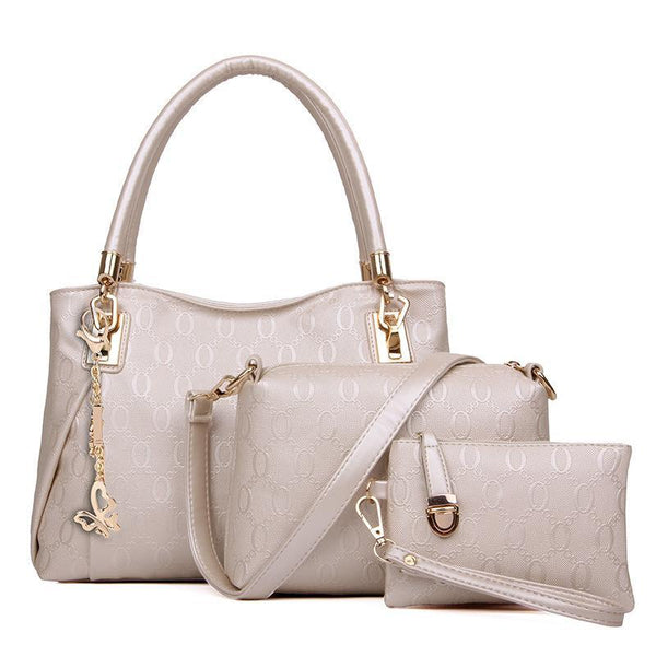 Trendinggate.com Pearl white Fashion foreign trade in Europe and the United States O-line fast-selling hot-selling explosive manufacturers direct sales of three sets of Golden Fox