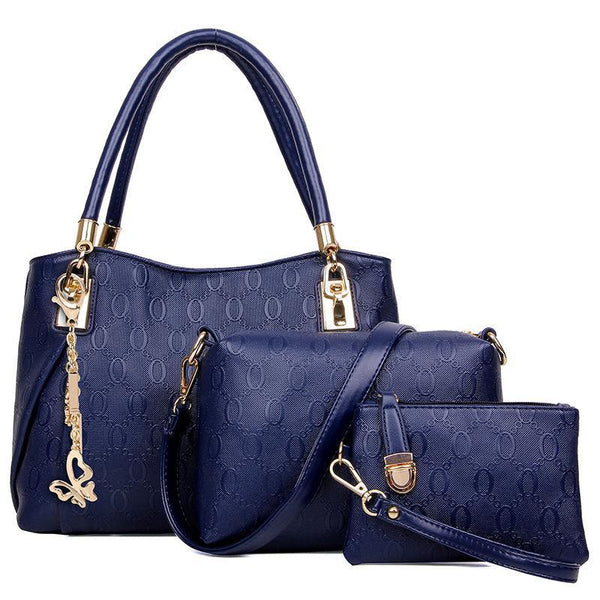 Trendinggate.com Sky blue Fashion foreign trade in Europe and the United States O-line fast-selling hot-selling explosive manufacturers direct sales of three sets of Golden Fox