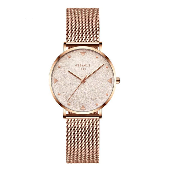 Trendinggate.com Mei Jin mesh belt French minority luxury star watches ladies new fashion temperament students Shi Ying watches watches