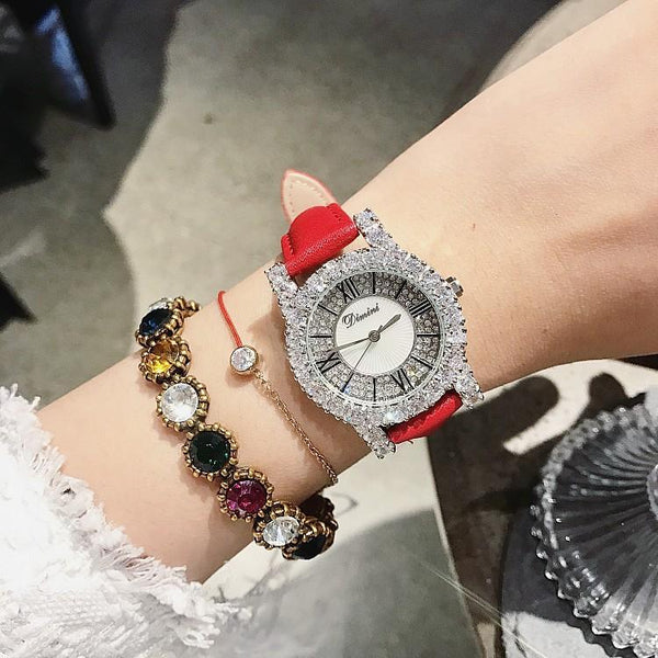 Trendinggate.com Genuine Fashion New Timini Watches Female Trend Korean Version Individual Women's Watches Simple Wrist Watches