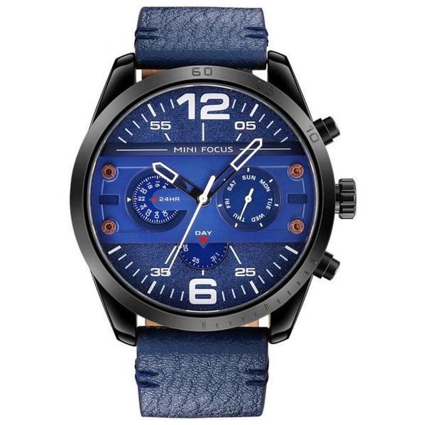 https://detail.1688.com/offer/599252450522.html Black shell and blue face Genuine leather watch