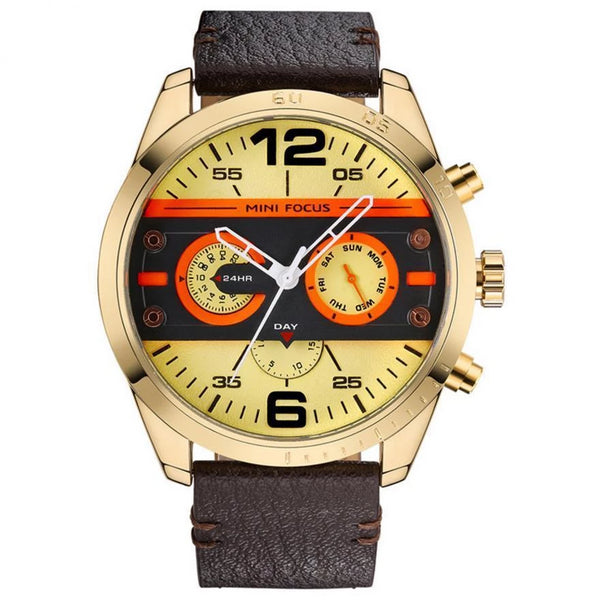 https://detail.1688.com/offer/599252450522.html Gold shell Genuine leather watch